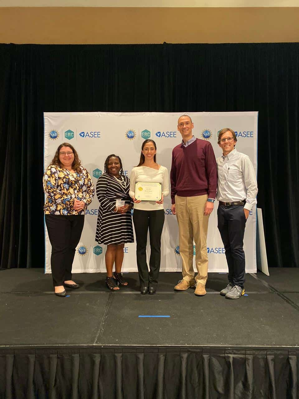 Mariana Marcos Hernandez receives 2019 NSF ERC Perfect Pitch Competition – 3rd Place