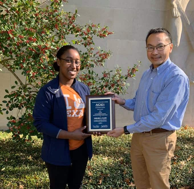 AIChE Environmental Division Graduate Student Paper award